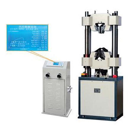WE-600B液晶显示液压万能试验机